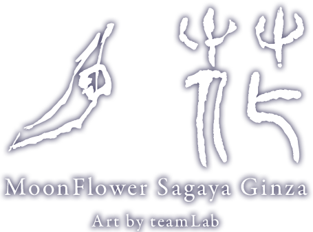 月花 MoonFlower Sagaya,Worlds Unkeashed by teamLab